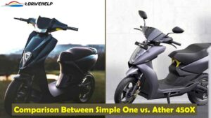 Read more about the article Comparison Between Simple One vs Ather 450X 2021 in Detail