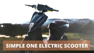 Read more about the article Simple One Electric Scooter 2021 – Price, Specifications, Review