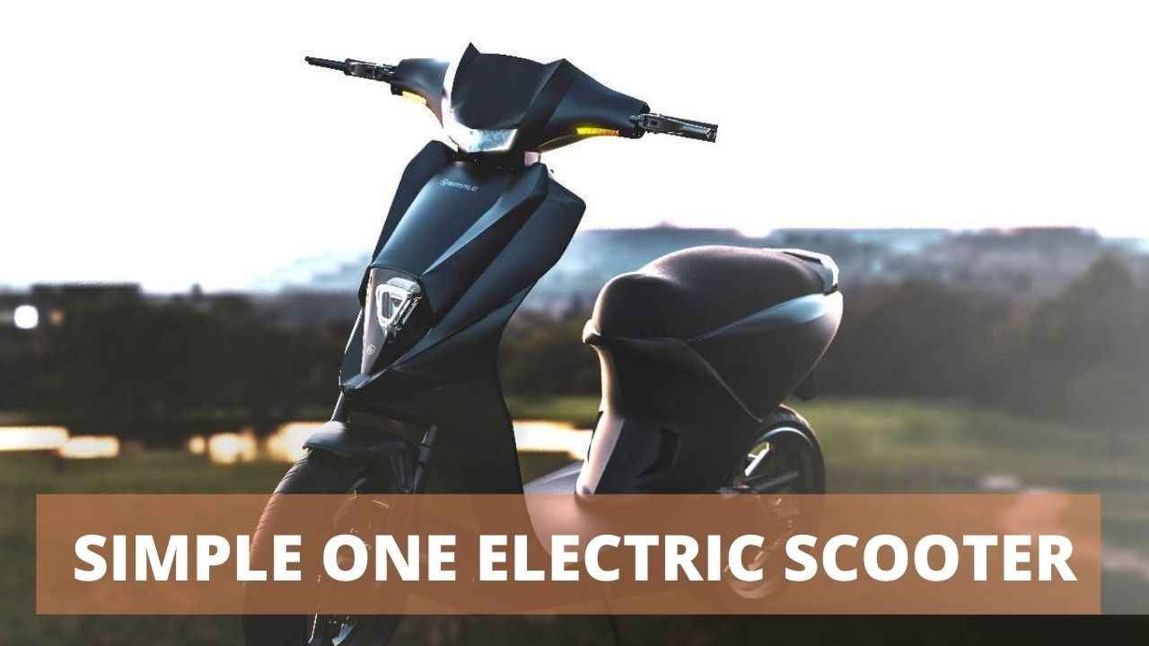 You are currently viewing Simple One Electric Scooter 2021 – Price, Specifications, Review