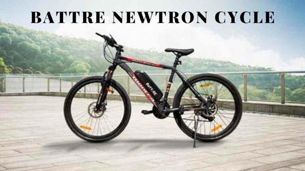 BattRE Electric Mobility Newtron cycle Specifications