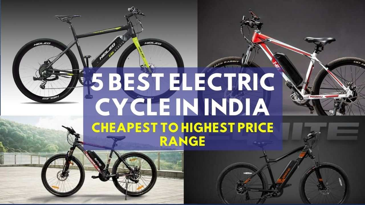 You are currently viewing 5 Electric Cycle in India – From Cheapest to Highest Price List