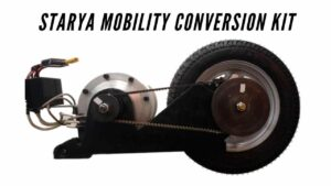 Read more about the article Starya Mobility Conversion Kit, Turn Your Gearless Scooter into an Electric Scooter 2021